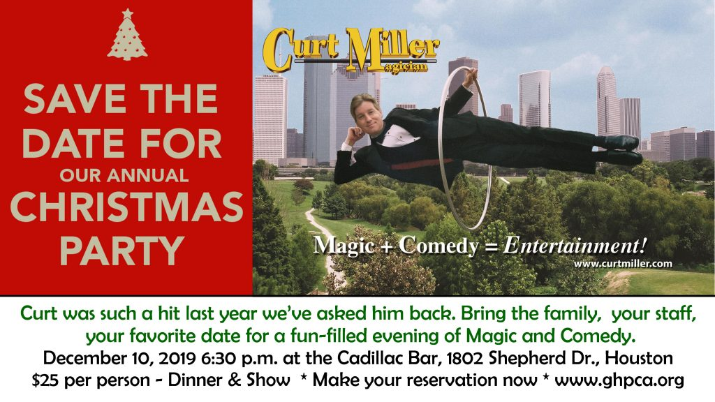 GHPCA Christmas Party - Curt Miller Magician & Comedian