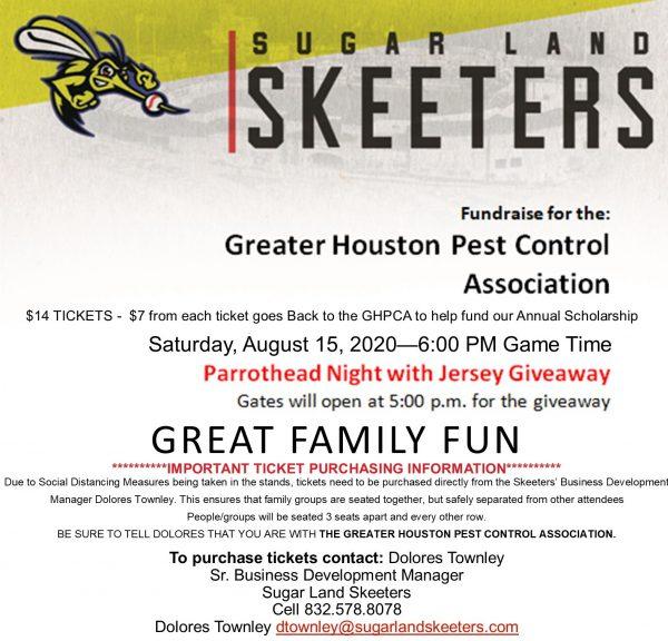 Aug 15 Skeeter's Fundraiser